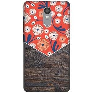 Printland Designer Back Cover For Xiaomi Redmi Note 4 - Wooden Art Designer Cases