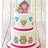 FMM Cutter Mummy & Baby Owl Set Large & Small Cake Icing Modelling Paste