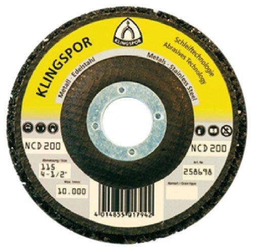 Klingspor 259043 Grobreinigungsscheibe NCD 200, 115 mm