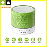 Priish® Wireless LED Bluetooth Speakers Wireless S10 Handfree with Calling Functions & FM