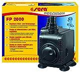 sera 30597 Filter- und Förderpumpe FP 2000 regelbar für Süß- und Meerwasser (Qmax: 2000 l/h Hmax: 3,0 m bei 43 Watt mit EU-Stecker und 20 mm Schlachstutzen sowie 1,8m Netzkabel)