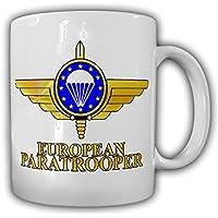 Europea PARACADUTISTA militare caucasica - Skydiving associazione EMFV PARACADUTISTA Bundeswehr