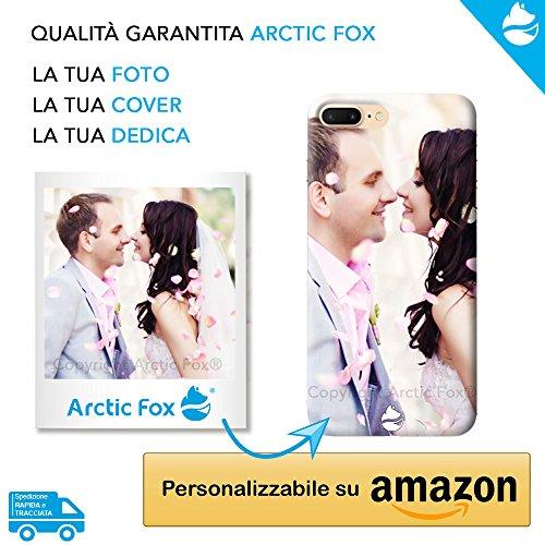 Arctic Fox Cover Custodia Personalizzata Morbida Trasparente con la Tua Foto o Dedica Personalizzabile su Amazon per Samsung Galaxy A9 2018