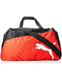 PUMA Sporttasche Pro Training Medium Bag - Bolsa de deporte, color negro (black-puma red-white), talla 63 x 31 x 29 cm, 54 L