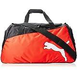 PUMA Sporttasche Pro Training Medium Bag - Bolsa de deporte, color negro (black-puma red-white), talla 63 x 31 x 29 cm, 54 L
