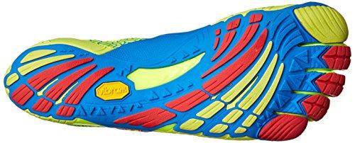 Vibram Five Fingers Herren Kmd Evo Hallenschuhe Mehrfarbig (Yellow/blue/red)