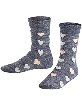 FALKE Mädchen Socken Denim Hearts