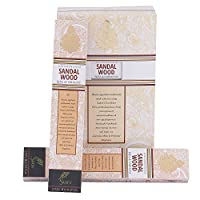 SVATV Sandalwood :: Hand Rolled Masala Incense Stick Made in India 15g Pack Of 2