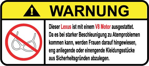 lexus-v8-motor-german-lustig-warnung-aufkleber-decal-sticker