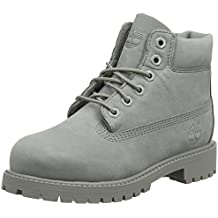 Timberland Unisex-Kinder 6 in Classic Boot Klassische Stiefel, grau