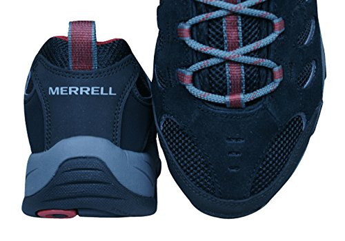 Merrell Ridgepass Hommes Courir baskets Black