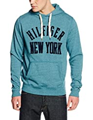 Hilfiger Denim Thdm Basic Hd Hknit L/s 2, Sweat-Shirt à Capuche Homme