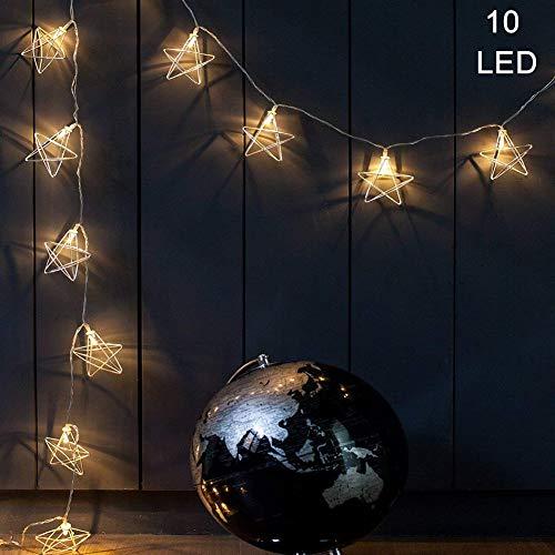 jixun-rose-gold-geometric-string-lights5-ft-10-led-fairy-lights-battery-powered-boho-wall-decor-for-