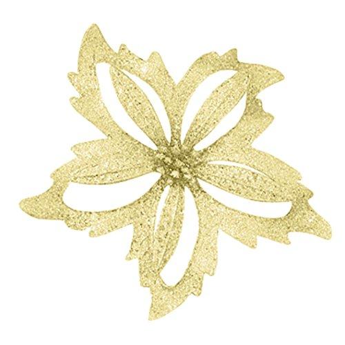 Paymenow Künstliche Blumen Wandabstand, 10cm Halloween Oder Weihnachtsbaum -
