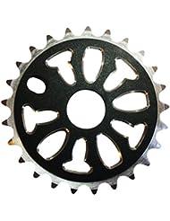 Nueva alta calidad CNC de aleación de bicicleta BMX plato manivela dientes: 25, color negro