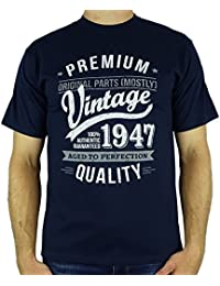 1947 Vintage Year - Aged To Perfection - 70 Ans Anniversaire T-Shirt pour Homme