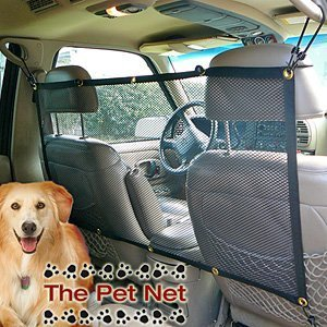 The Pet Net Brand Safety Barrier - NEW vehicle barrier for dogs, Adjustable & Affordable! 47
