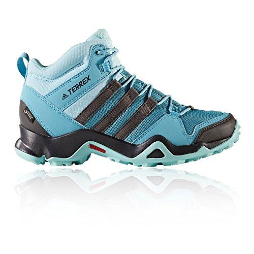 adidas Damen Terrex Ax2R Mid GTX W Trekking- & Wanderstiefel blau (Azuvap/Neguti/Agucla) 38 2/3 EU