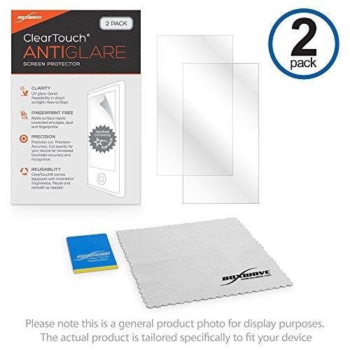 Boxwave Cleartouch Screen Protector (Nintendo Nintendo 2DS XL Displayschutzfolie, BoxWave ClearTouch AntiGlare (2er Pack) [Anti-Fingerprint Matt Folie Skin für Nintendo Nintendo 2DS XL)