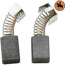 Escobillas de Carbón para MAKITA 4329K sierra de calar -- 5x8x11mm -- 2.0x3.1x4.3''