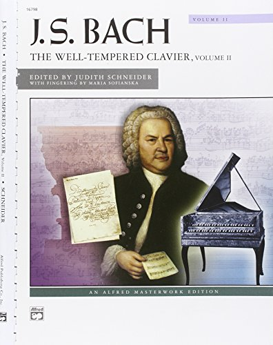 Bach -- The Well-Tempered Clavier, Vol 2 (Alfred Masterwork Editions)