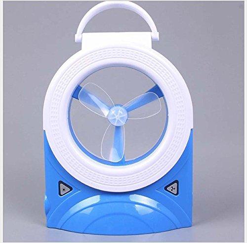 Preisvergleich Produktbild Kaxima Multi-Funktions-Fan Lichter Kinder führte Mini kleinen Ventilator triple unsichtbar Fan