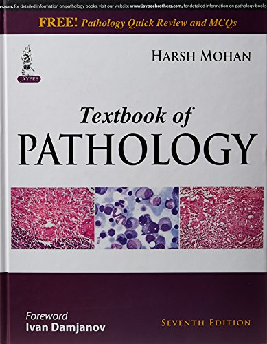 Textbook of Pathology + Pathology Quick Review and MCQs - Set of 2 Books