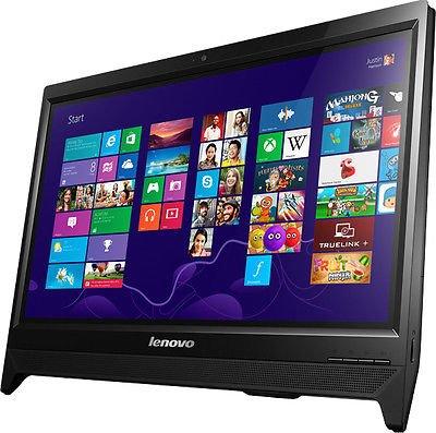 Lenovo C20-30 19.5-inch All-in-One Desktop (Core i3-5005U/4GB/1TB/DOS/Integrated Graphics), Black
