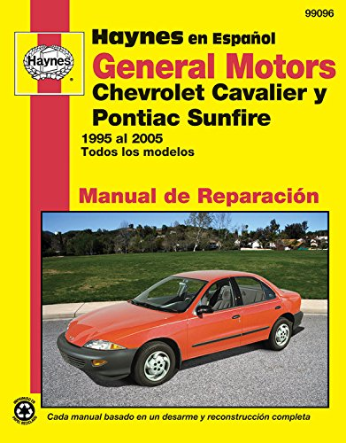 Chevrolet pontiac the best amazon price in savemoney general motors chevrolet cavalier y pontiac sunfire 1995 al 2005 todos los modelos haynes fandeluxe Gallery