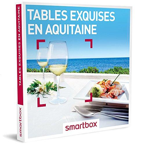 SMARTBOX - Coffret Cadeau homme femme couple - Tables exquises en Aquitaine - idée...