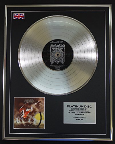 HAWKWIND/LTD Edicion CD platinum disc/HALL OF THE MOUNTAIN GRILL