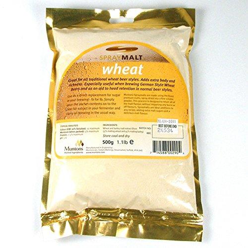 Extracto Malta Deshidratado Polvo Trigo 500g