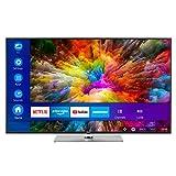 MEDION X16565 163,9 cm (65 Zoll) UHD Fernseher (Smart-TV, 4K Ultra HD, Dolby Vision HDR, WCG, Netflix, Prime Video, WLAN, HD Triple Tuner, DTS Sound, PVR, Bluetooth)