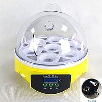 UxradG - Incubador automático de huevos, 7 huevos, control de temperatura, paloma de