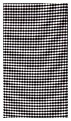 A. B. Cloth Mens Cotton Shirt Fabric (Black&White)