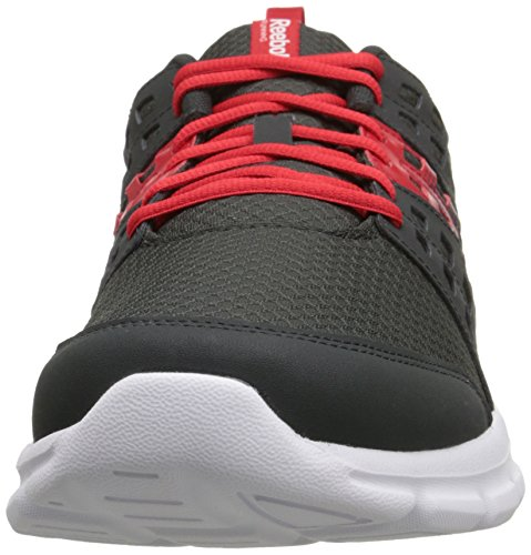 Reebok Speed â??â??montée Running Shoe Gravel / Red Rush / White / Reebok Royal / Silver