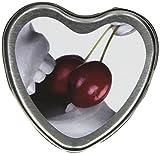 Earthly Body 3 in 1 Essbaren Massagekerze - Kirsche, 1 Stück