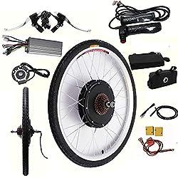 """OUKANING LCD 48V 1000W 26"""" E-Bike arrière moyeu Roue Moteur Conversion vélos électrique"""