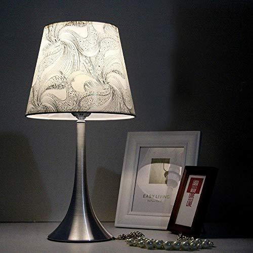 XFZ Simplistic und Fashionable Design Schreibtischlampe mit Aluminium Ally Base Design Base und dimmbarer Glühlampe für Schlafzimmer, Wohnzimmer, Dekoration, A - Brown Ally