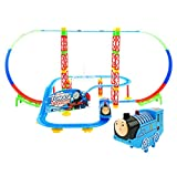 Kiditos Electronic Thomas and Friends Upgraded Train Tracks with Sound and Light, 68x38x32.5cm (Multicolour)
