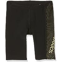 Speedo 8-11342C146 Pantalones Cortos, Niños, Negro (limón), 30
