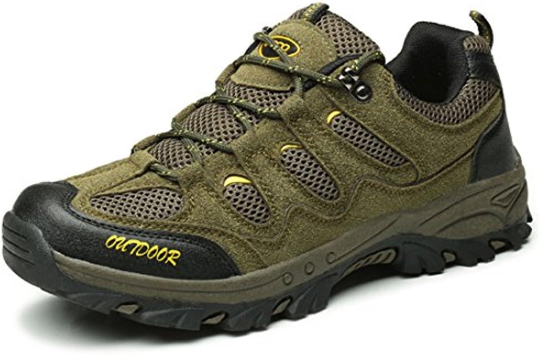 Zapatillas de Senderismo Hombres Zapatos Deporte Casual Zapatillas Trekking Outdoor Suela Antideslizante 39-43  -