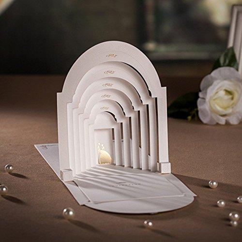 20 X Designer Laser Cut 3D Pop up