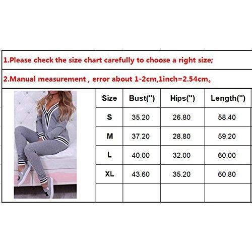 ... Morbida comoda Fitness Yoga Tute pullover a maniche lunghe Pantaloni 2  pezzi Vestiti Set Felpa + sportiva Pantaloni Hibote. Visualizza le immagini 4054bd64672