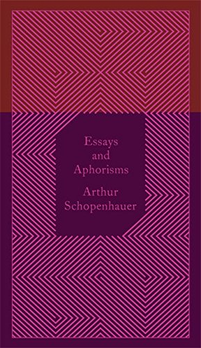 Essays and Aphorisms (Penguin Pocket Hardbacks) por Arthur Schopenhauer