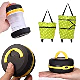 #8: Buyerzone Combo Pack of Trolley Bag and Camping Fold-able Lantern