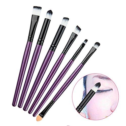 Ba1 Pc (Wildlead 6 PC-Berufsverfassungs -Bürsten-Satz-Kosmetik-Stiftung Lidschatten Eyeliner Lippenbürste bilden Werkzeug)