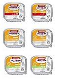 3 x 4 St. Gesamt 12St. Animonda Katzenfutter Integra Protect Niere 100g, Pute, Kalb und Ente