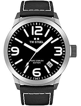TW Steel Marc Coblen Edition mit Lederband 42 MM Black/Black TWMC1