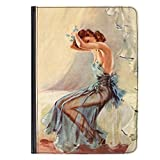 Pin Up Girl Blue Nightdress Hülle für Universal Tablet 7